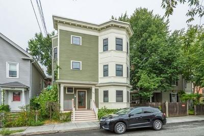 Cambridge Condo/Townhouse Under Agreement: 201 Pearl Street #2