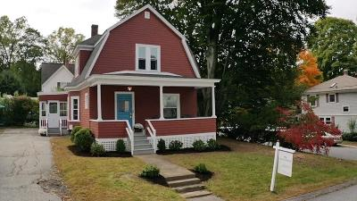 Hudson Single Family Home For Sale: 8 Everett St