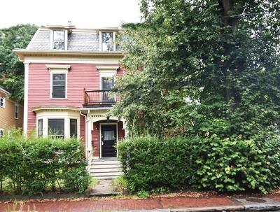 Cambridge Multi Family Home Contingent: 23 Irving Street