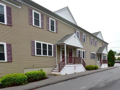 Whitman Condo/Townhouse Under Agreement: 604 Bedford St #4