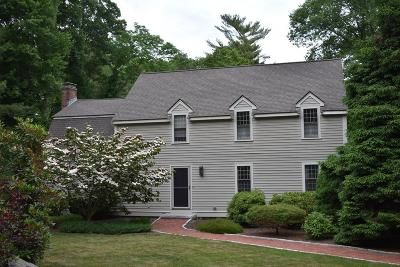 Norwell Single Family Home Contingent: 43 Chittenden Lane