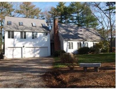 MA-Plymouth County Single Family Home For Sale: 472 Delano Road