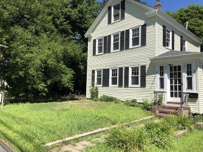 Ashland Single Family Home For Sale: 19 Pleasant St
