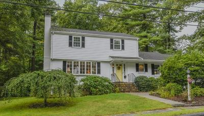 Dedham Single Family Home Under Agreement: 11 Bonney Ln