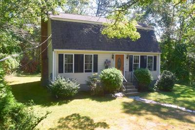 MA-Plymouth County Single Family Home For Sale: 174 Gunners Exchange Rd