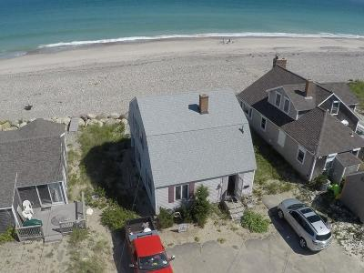 Scituate Single Family Home Under Agreement: 154 Humarock Beach