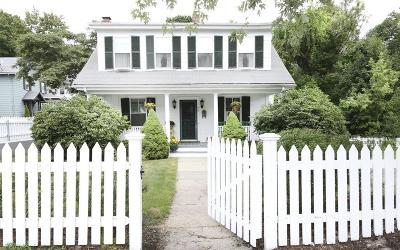 Boston Single Family Home Under Agreement: 75 Maple St