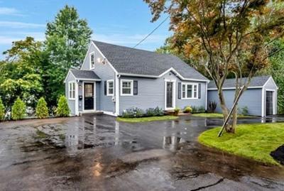Woburn Single Family Home Contingent: 40 Burlington St