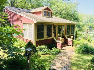West Brookfield Single Family Home Under Agreement: 153 Shoreline Dr