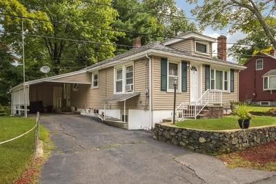 Saugus MA Single Family Home Contingent: $364,900