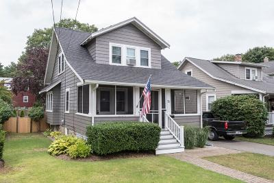 Weymouth Single Family Home Contingent: 71 Lakewood Rd