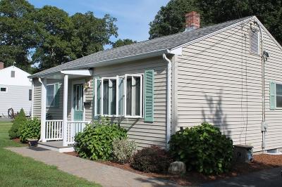 Bourne Single Family Home Under Agreement: 6 Birch St