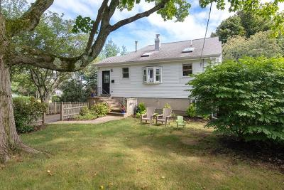 Hingham Single Family Home Contingent: 59 Kimball Beach Road