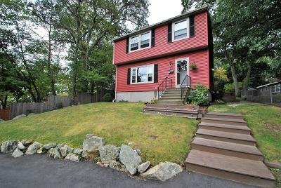 Weymouth Single Family Home Contingent: 47 Mountain View Road