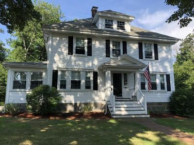 Braintree Single Family Home Under Agreement: 106 Oak Street