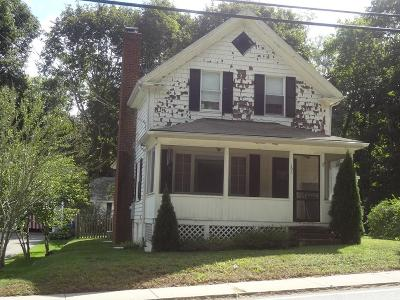 Plymouth Single Family Home Under Agreement: 196 Summer Street