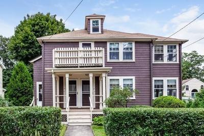 Newton Multi Family Home Under Agreement: 16-18 Shirley Street
