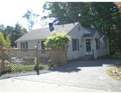 Holbrook, Abington, Rockland, Whitman Single Family Home For Sale: 45 Coleman St