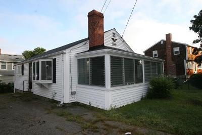 Scituate Single Family Home Under Agreement: 13 Wampatuck Ave
