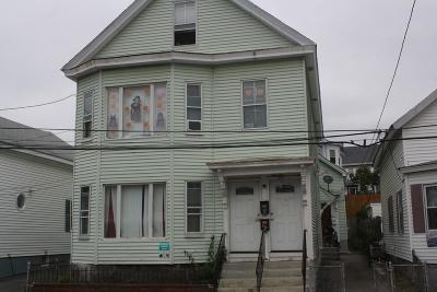 Methuen, Lowell, Haverhill Multi Family Home For Sale: 36-40 Crosby Street