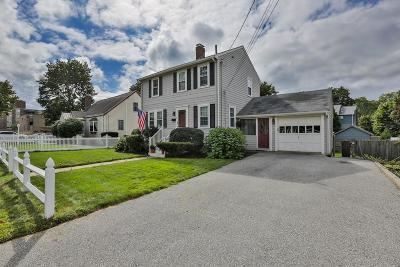 Stoneham Single Family Home Under Agreement: 8 George St