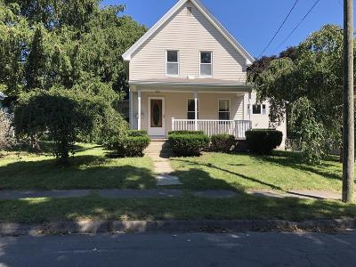 Middleboro Single Family Home Under Agreement: 14 Coombs St