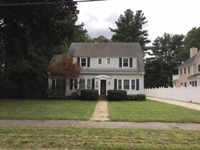 Wellesley Single Family Home Under Agreement: 20 Elm St