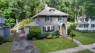 Melrose Single Family Home Under Agreement: 159 Warwick Rd