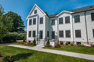 MA-Suffolk County Condo/Townhouse For Sale: 21 Chickatawbut Street #2