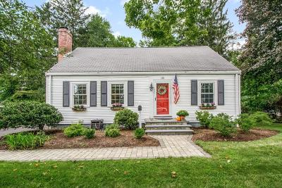 Framingham Single Family Home Contingent: 115 Salem End Rd
