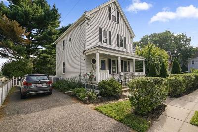 Boston Single Family Home New: 289 Savin Hill Ave