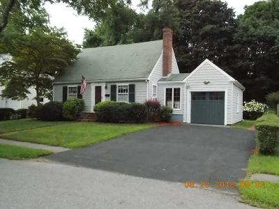 Saugus MA Single Family Home For Sale: $499,900