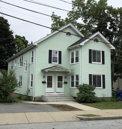 Newton Multi Family Home Under Agreement: 54-56 Lothrop St