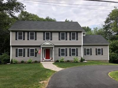 Sudbury Single Family Home Contingent: 85 Indian Ridge Road