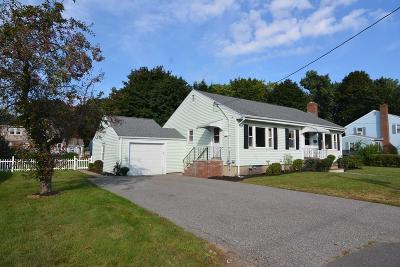 Stoneham Single Family Home Under Agreement: 6 Cardinal Road