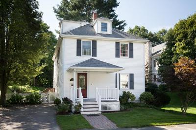Wellesley Single Family Home New: 12 Hastings Street