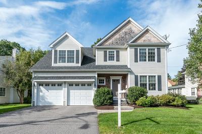 Needham Single Family Home Under Agreement: 17 Longfellow Rd