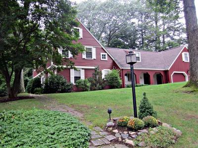 Wellesley Single Family Home Under Agreement: 35 Old Colony Rd