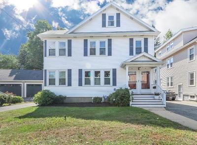 Newton Condo/Townhouse Under Agreement: 84 Auburn St #84