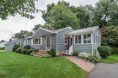 Stoneham Single Family Home Under Agreement: 8 Sunrise Ave.