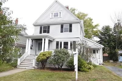Melrose Single Family Home Under Agreement: 47 Orient Avenue