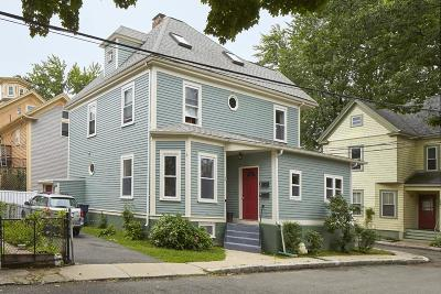 Cambridge Multi Family Home Under Agreement: 4 Saginaw Ave