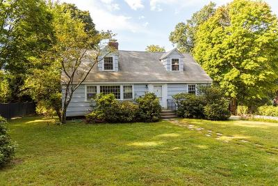 Wellesley Single Family Home New: 45 Seaward Rd