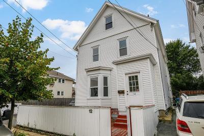 Medford Single Family Home For Sale: 12 Court St
