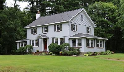 Sudbury Single Family Home Under Agreement: 560 Peakham Road