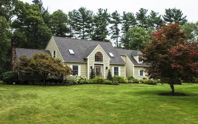 Raynham Single Family Home Contingent: 100 Hickory Dr