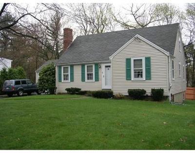 Westwood MA Single Family Home New: $650,000