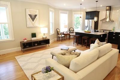 Somerville Single Family Home For Sale: 40 Evergreen Ave #1