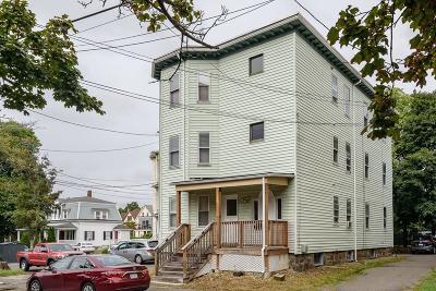 Malden Multi Family Home Under Agreement: 11 Harnden Rd