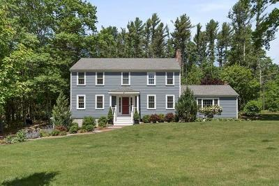 Duxbury Single Family Home Under Agreement: 5 Cordwood Path